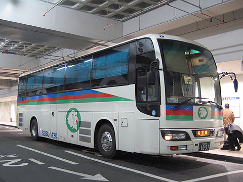西武バス 名古屋線 1420