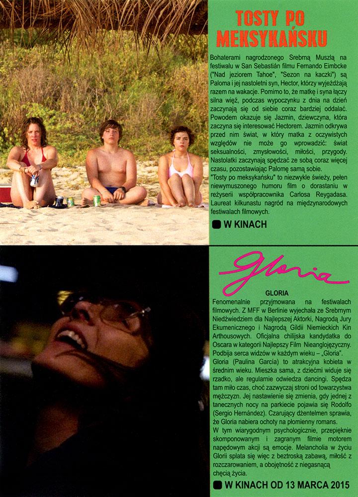 Ulotka filmu 'Tosty Po Meksykańsku (tył)'