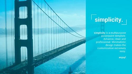 Simplicity, una plantilla genérica, limpia y profesional, de alta calidad y fácil personalización