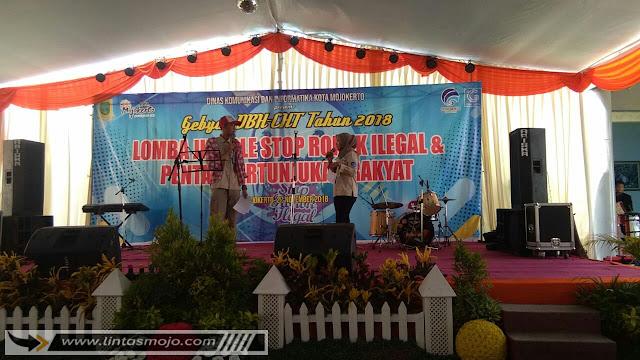 Lomba Jingle Rokok Ilegal yang diselenggarakan Diskominfo Kota Mojokerto