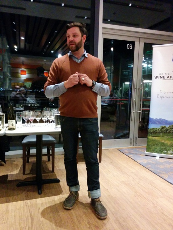 Covert Farms' Derek Uhlemann presents a full range of organic wines.