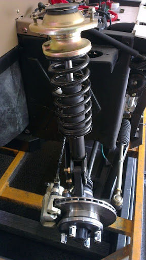 500cc Agmax Farm UTV Front Shock with Ventilated Disk Brakes