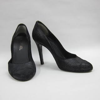 Chanel Distressed Leather Pumps