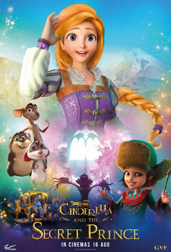 Baixar Filme Cinderela e o Príncipe Secreto Torrent