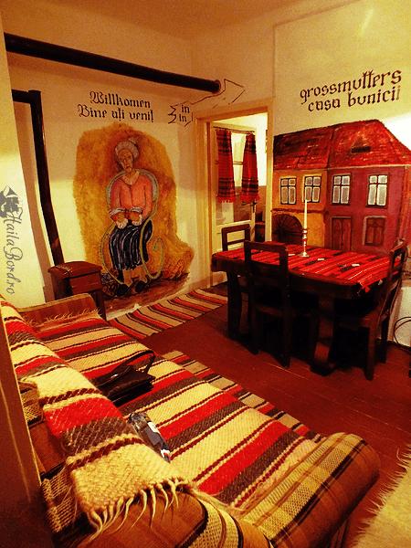sufragerie casa bunicii sighisoara