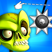 Cut Rope With Zombies