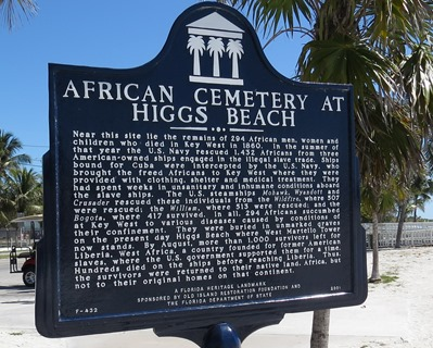 African American Cemetary at Higgs Beach, Key West