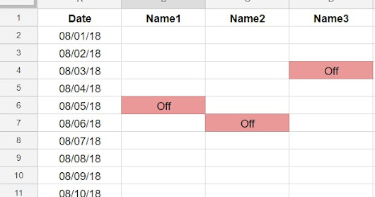 yogi_Conditionally Format B1:D1 When Date In Column A Is TODAY And Columns B:D Houses Off In Any Row