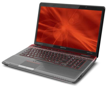 toshiba 11q4 X775 Q7380 main lg Toshiba Cosmio X775 Q7170 Review and Specifications
