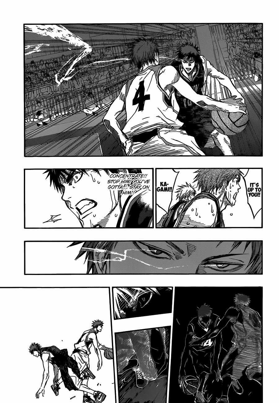 Kuroko no Basket Manga Chapter 262 - Image 07