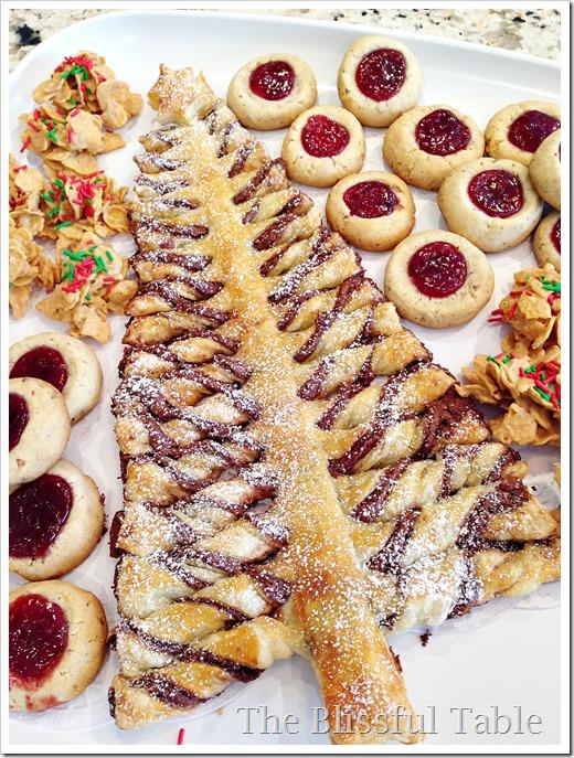 nutella christmas tree platter1