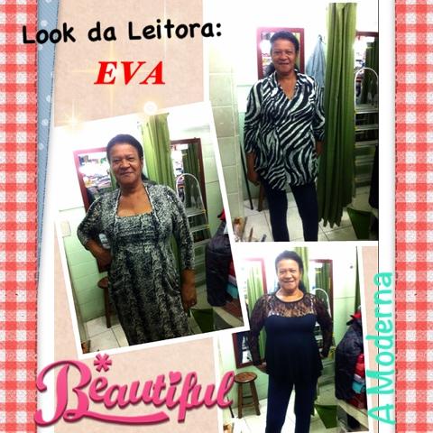 Look da Leitora: Eva