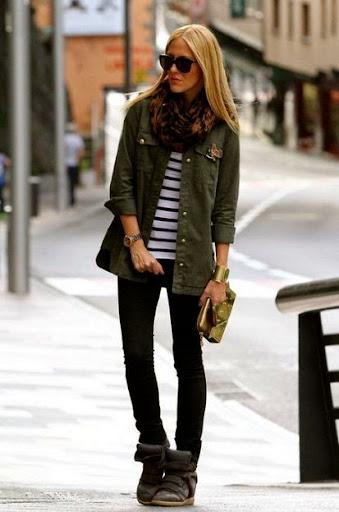 women winter style