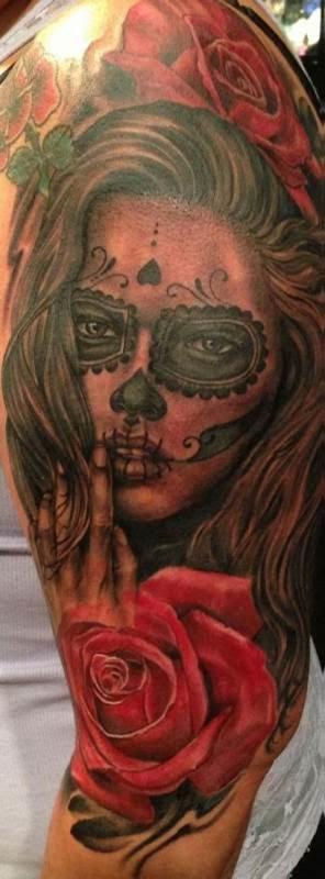 joey_hamilton_dia_dos_mortos_tatuagem
