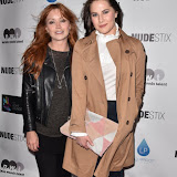 OIC - ENTSIMAGES.COM - Arielle Free and Kat Shoob at the NUDESTIX - launch party celebrating the launch of a new lip line from the cosmetic brand  in London  2nd June  2016 Photo Mobis Photos/OIC 0203 174 1069