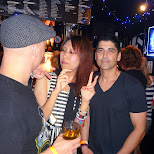 sonic music festival after party with the guys from the band Zebrahead in Tokyo, Tokyo, Japan