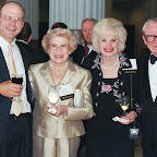 Tad Mayfield, Jackie Anderson, Clyde & Pat McCall 2004.JPG