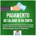 O prefeito Erlânio Xavier faz o pagamento dos servidores de Igarapé Grande adiantado mais uma vez