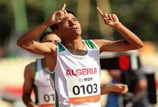 Paralympiques-2016 / Athlétisme (Finale 400m/T13): forfait de l'Algérien Abdellatif Baka