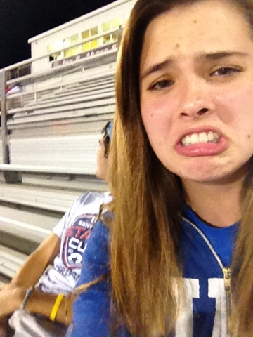 Highschool girl selfie