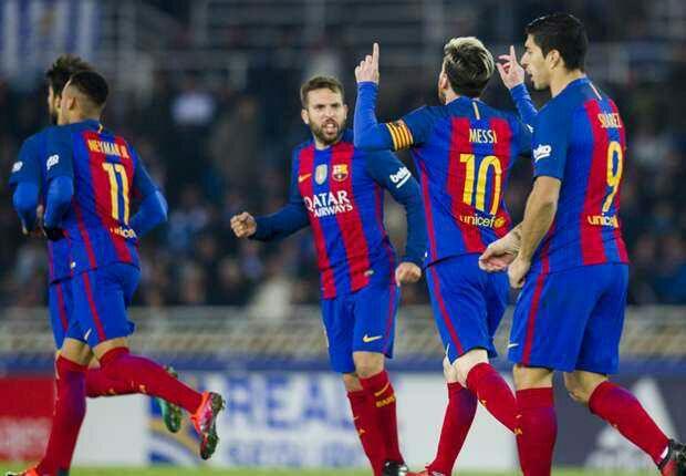 [Video]Real-Sociedad-1-1-Barcelona-La-Liga-Highlight