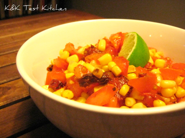 tomato and corn chipotle salsa