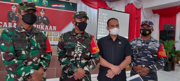 Buka Daerah Terisolir, Ketua DPRD Kotabaru Sambut Baik TMMD ke-112