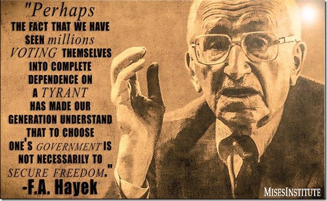 Hayek-Tyrant