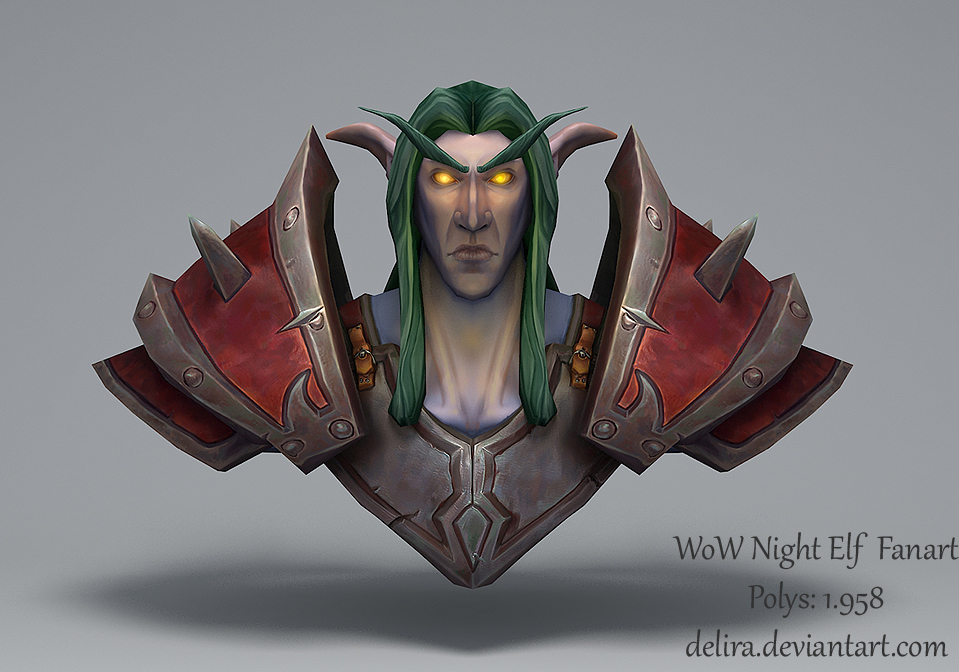 Night Elf Fanart
