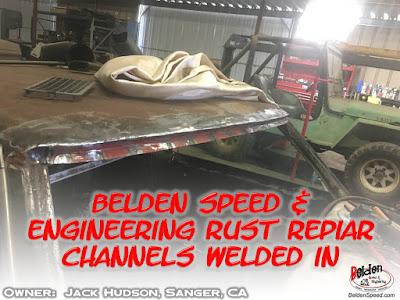 rear window rust repair,window channel patch panels,Chevelle,Monte Carlo,GTO,LeMans,Tempest,Cutlass,Camaro,Firebird,Beldenspeed,Belden Speed & Engineering,F Body,A Body,Skylark,Nova,El Camino,Grand Prix,windshield channel,Second Gen,Gen 2