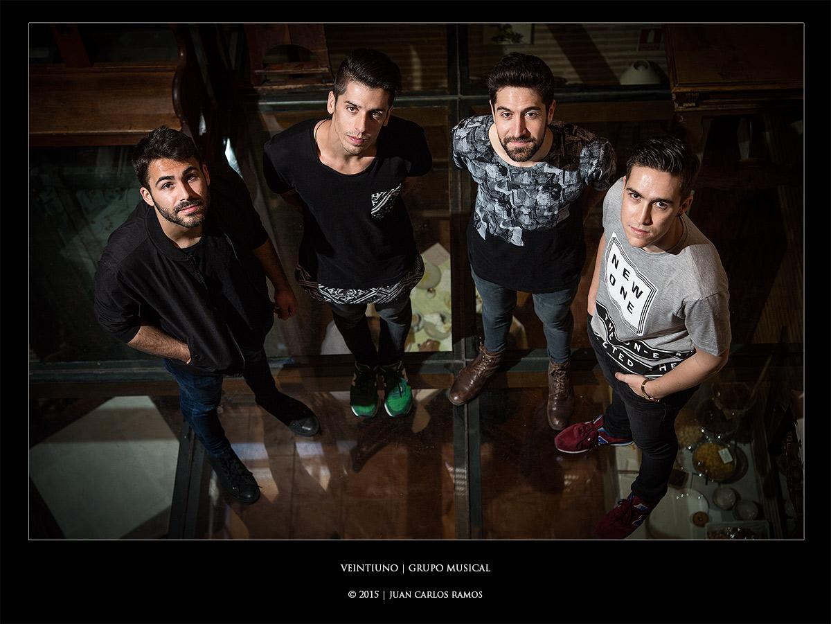 Veintiuno grupo musical por Juan Carlos Ramos fotógrafo de toledo