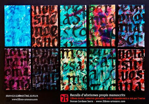 Sèries d'aforismes manuscrits; Ferran Cerdans Serra