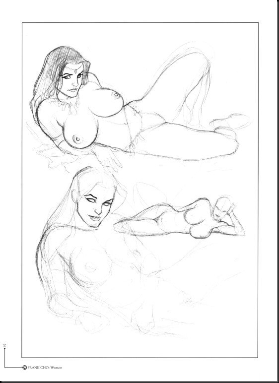[Frank Cho] Women - Selected Drawings and Illustrations_854057-0093