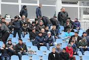 На матче МФК «Николаев»- «Динамо-2» (Киев) устроили дымовую завесу