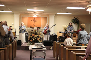 Singing to Him our way in Dreka, TX.