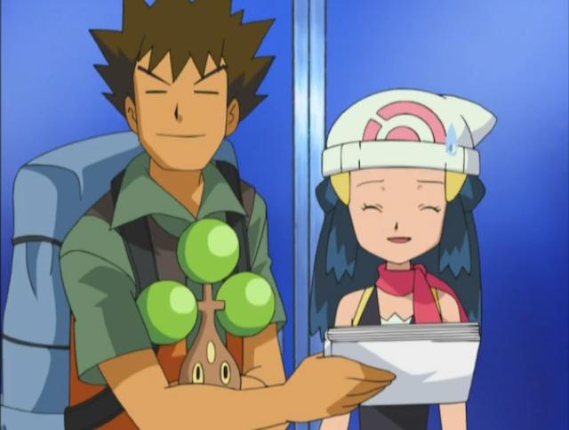 Brock's got it
