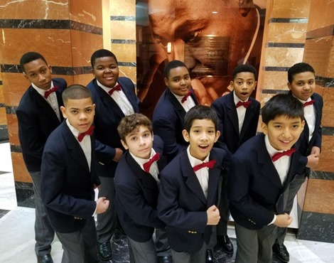 Photo 1 - Newark Boys Chorus, along with the Arts High School Advanced Chorus, will perform wit