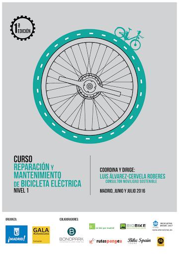 Arranca el primer curso de mantenimiento y reparación de  bicicleta eléctrica en Madrid