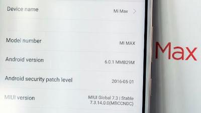 Membawa 4850mAh Baterai plus Fingerprint Sensor Ini Dia Spesifikasi Lengkap Xiaomi Mi Max