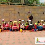 Car Wash Activity by Playgroup Section at Witty World, Bangur Nagar (2018-19)