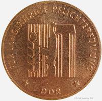 256c Medaille für langjährige Pflichterfüllung zur Stärkung der Landesverteidigung der DDR für 10 Jahre www.ddrmedailles.nl