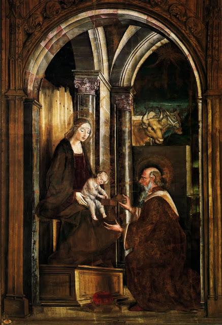 Pedro Berruguete - Adoration of the Magi