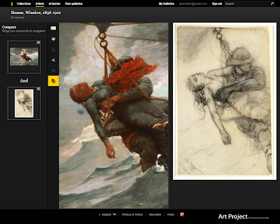 Google Art Project Compare