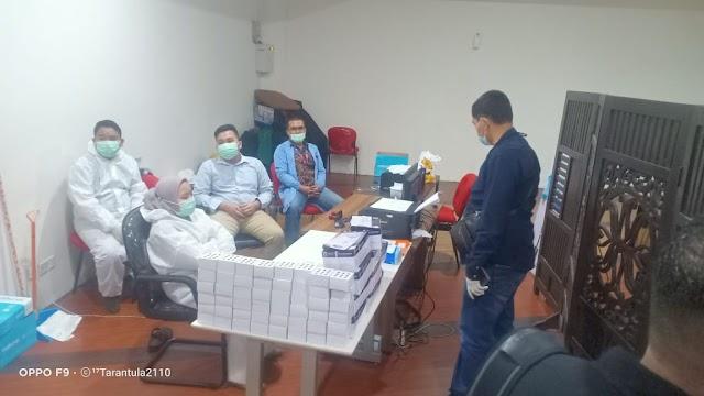 Ditkrimsus Polda Sumut Amankan Oknum Kimia Farma di Bandara Kualanamu