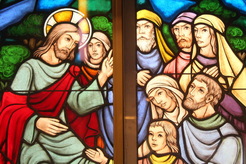 Stained glass at St. Martin's, Ottawa