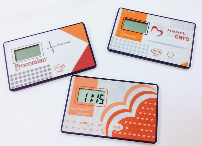 Credit Card Size Pulse Meter- Pulse rate with finger sensor- Accuracy & Reliability Ensure- Lightweight pocket size Pulse Card.- Very Convenient for use- Best for Promotion & Gift. Please feel free to contact us and visit our website of www.pedometer365.com