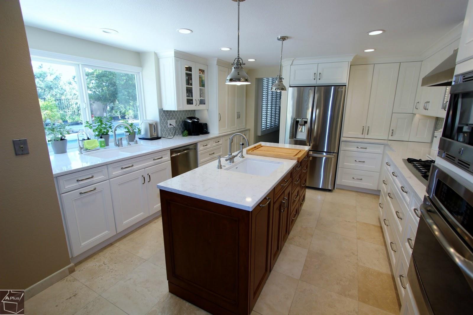Anaheim Hills Complete Transitional Kitchen Remodel - Kitchen remodeling anaheim