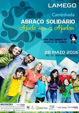 Caminhada - Abraço Solidário - Lamego - 2016