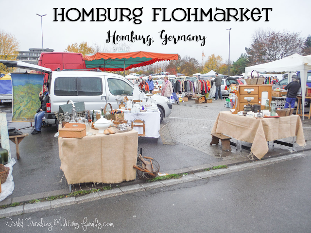 If you like searching for treasures & getting some great deals, check out the Homburg Flohmarket! First Sat of every month, except Dec, from 8 am to 4 pm.