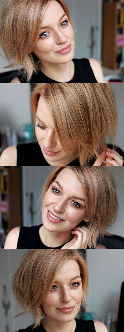Latest Short Haircuts For Woman 2018 6
